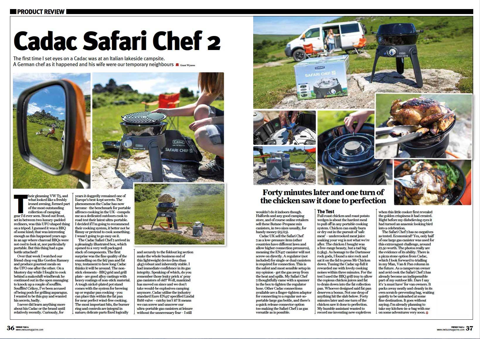 Cadac safari chef 2 reviewgrant wyness - Cadac safari chef ...
